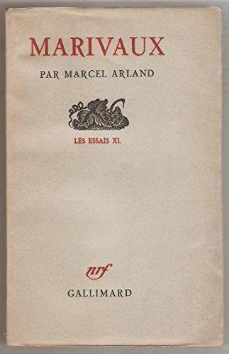 Marivaux - les essais xl - nrf gallimard 1950
