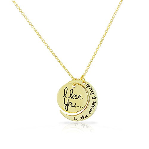 argento-sterling-925-giallo-oro-i-love-you-to-the-moon-and-back-crescent-pendant-necklace