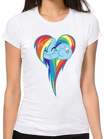 Heart Of Rainbow Dash T-Shirt - XX-Large Damen