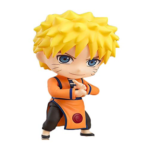 Yingjianjun Naruto: Shippūden Uzumaki Naruto Nendoroid Figura de acción de Aproximadamente 4 Pulgadas