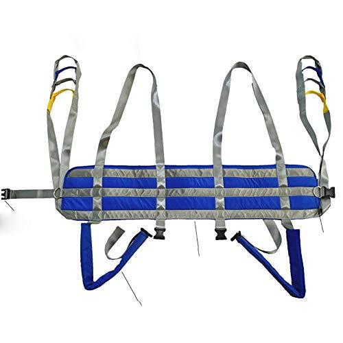 41PLK6eZcXL - GXJ Acolchado Aseo Paciente Levantar Honda con Cinturón, 510Lb Peso Capacidad con Antideslizante Interior Almohadilla No Paseo Arriba Mas Rapido Más Fácil Más Seguro Traslados Y Aseo Azul