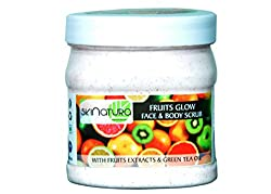 skinatura fruits glow face & body cream scrub