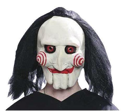 Close Up Original Saw Puppe Maske/Hochwertige Filmreplik-Maske aus Latex (Saw Von Kostüm Puppe)