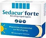 Sedacur forte Spar Set: 2 x 60 Stück Pflanzliches Arzneimittel zur Beruhigung
