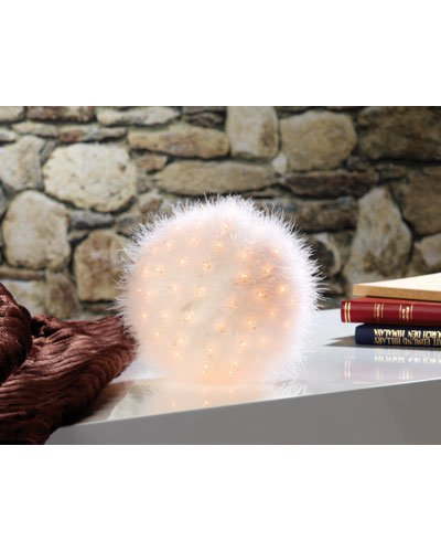 Boule lumineuse ''Plumes''