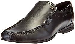 Carlton London Mens Maximilian Black Formal Shoes - 11 UK/India (45 EU)(CLM-1290)
