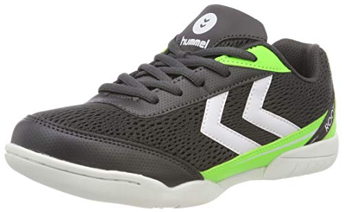 Hummel Unisex-Kinder Root JR 2.0 LC Multisport Indoor Schuhe, Schwarz (Asphalt 1525), 27 EU