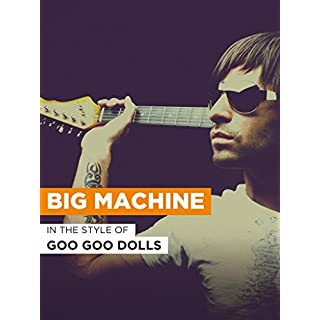 Big Machine im Stil von