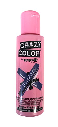 Crazy Color Haartönung 100ml (Sapphire Blue)