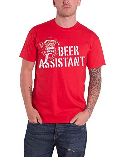 Gas Monkey Garage T Shirt Beer Assistant Nue offiziell Herren Assistant Sweatshirt