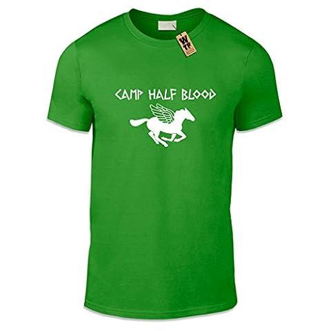 WTF-Aufdruck/Camp Half Blood Casual Fit T-shirt, verschiedene Farben und Größen
