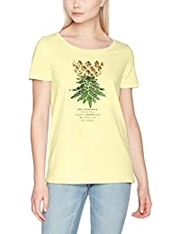 ONLY Women's Onlkita S/S Sequins Pineapple Box Ess T-Shirt
