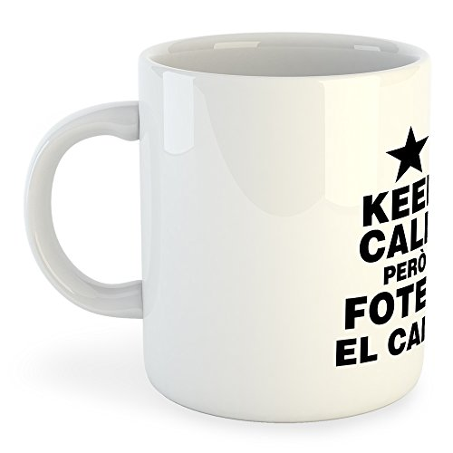 """Versión del lema """"Keep Calm and speak Catalan"""" que tan conocido se ha hecho.Diseño con una de las frases más conocidas tras la manifestación del 11 de Septiembre."""
