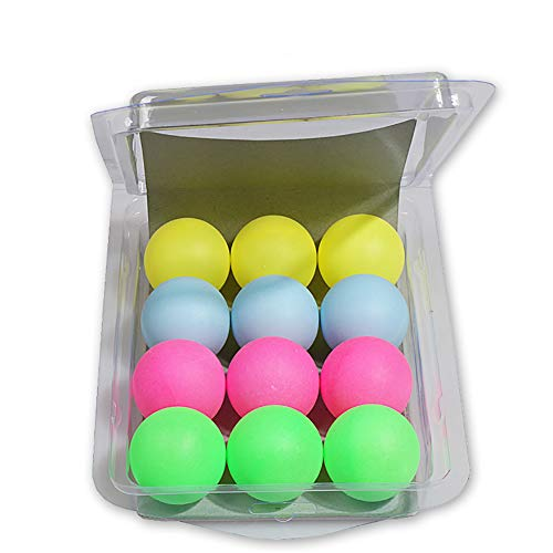 Ouken 1 Caja 40 mm Ping-Pong Bolas múltiples Color