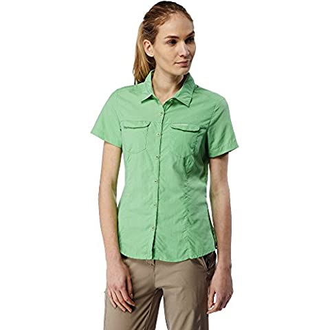 Craghoppers Womens/Ladies NosiLife Adventure Short Sleeve Button Shirt