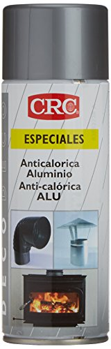 CRC - Pintura En Spray Resistente A Altas Temperaturas +650ºc, Gris Aluminio...