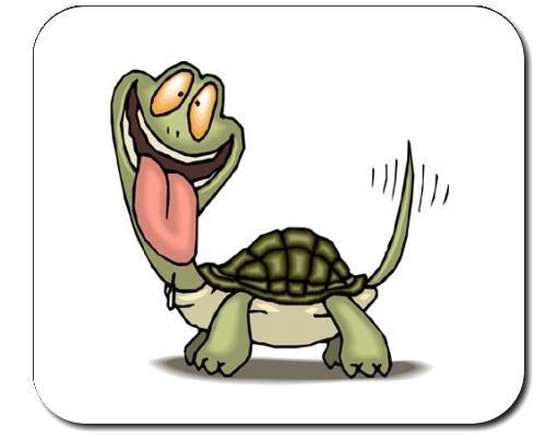 Preisvergleich Produktbild Mauspad mit der Grafik: Tier, erhobenen, Schildkröte, Haustier