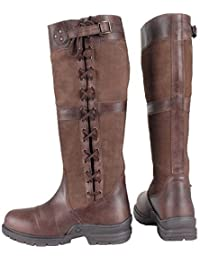 b9c3398b5b330 Horka Midland Adults Waterproof Country Walking Horse Riding Winter Outdoor  Leather Boots Size 3-12