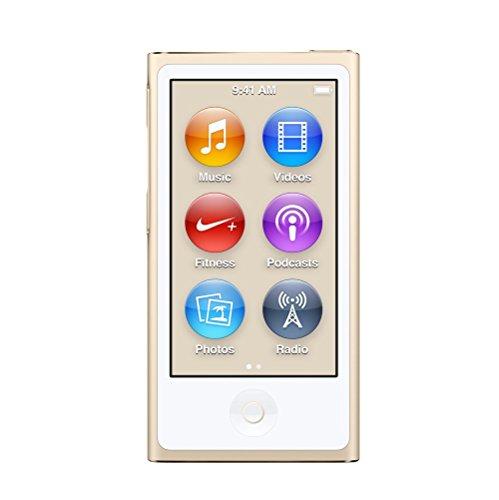 Apple ipod nano 7. generation gold 16gb mp3 player 7g