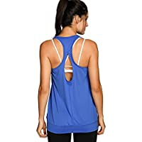 SYROKAN Damen Sport Tank Top - Essential Fitness T-Shirt Tops