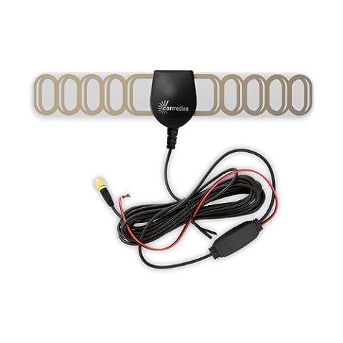 Auto DVB-T aktiv Antenne CM-ANT12VSMA mit SMA Anschluss Verstärker für Autoradio auch für DVBT 2