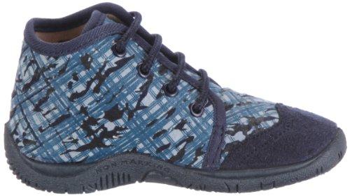 Beck Jungle 644, Chaussures basses garçon bleu (bleu foncé)