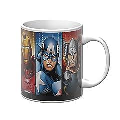 Idea Regalo - Star Licensing Marvel Avengers Tazza Mug, Ceramica, Multicolore