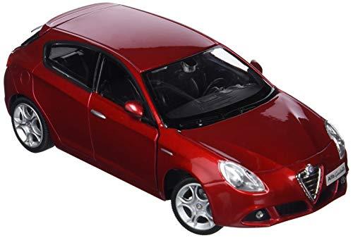 Bburago, 18-22128, Coche de Juguete Alfa Romeo Giulietta, Escala 1/24, Colores Aleatorios