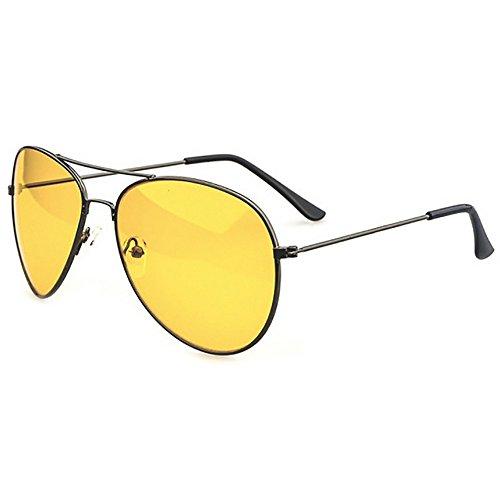 Eyekepper aviateur lunettes de soleil polarise Vision nocturne de conduite Lunettes de soleil - Gris - taille unique 99puHQgS