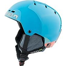 Shred Optics Noshock Snowboard / Ski Azul casco de protección - cascos de protección (Snowboard, Esquiar, Azul, m, Brillo, 54 - 57,5 cm)