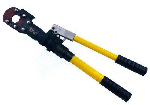 Gowe hydraulique en acier Coupe fil hydraulique Câble hydraulique Outil de coupe Cutter coupe câble blindé pour 50 mm max
