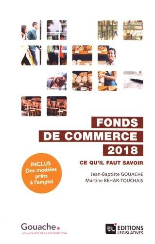 Fonds de commerce 2018
