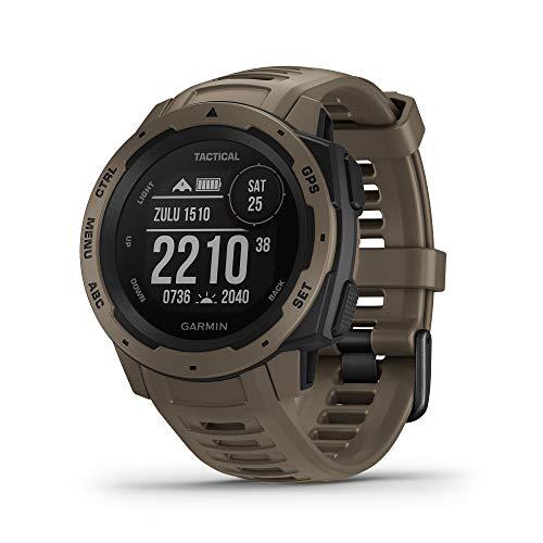 Garmin  Instinct Edition Tactique - Montre GPS multi-fonctions outdoor - Coyo