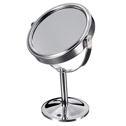 Bluelover Lupe Schönheit Kosmetische Make-Up Drehbar Tragbaren Doppelseitigen Spiegel