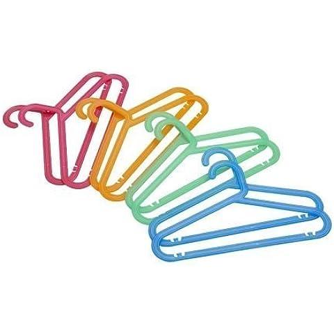 IKEA BAGIS–Percha Infantil, colores surtidos/8pack