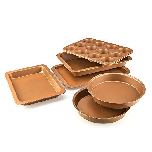 Cookshop Copperglaze 6 Piece Non-Stick Baking Set