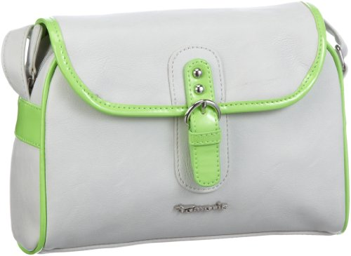 Tamaris Serena Crossover Bag A-1-110-55-301, Damen Umhängetaschen 22x15x8 cm (B x H x T) Beige (quarz comb 217)