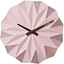 Karlsson KA5531PI - Orologio da parete, colore: Rosa chiaro