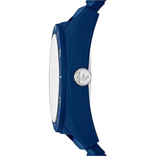 Adidas ADH3138 SANTIAGO Uhr Herrenuhr Kautschuk Kunststoff 50m Analog blau - 2