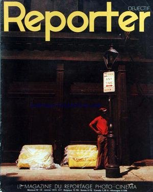 REPORTER OBJECTIF [No 19] du 01/01/1974 - VLOO MARTEL - LES PHOTOGRAPHES DE GUERRE - TOM DRAHOS - AUTO-ZOOM VIVITAR 70-210 - LE DESSIN ANIME - PEDRO LUIS RAOTA - LE MAGNETOSCOPE AKAI VT 110 - LES FILMS FUJI. par Collectif