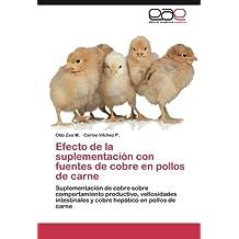 Efecto de la suplementación con fuentes de cobre en pollos de carne
