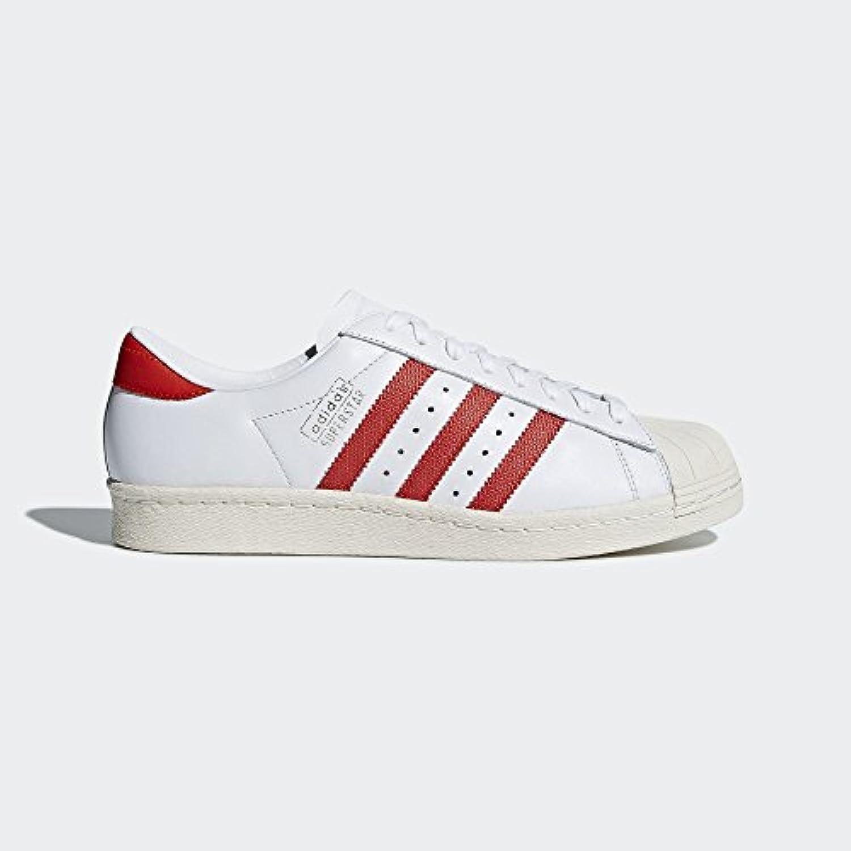 Adidas Originals SUPERSTAR WEAVE Zapatillas Sneakers Rojo para Unisex -