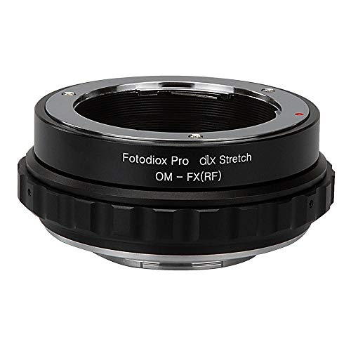 Fotodiox DLX Stretch Lens Mount Adapter - Olympus Zuiko (OM) 35mm SLR Lens Compatible with Fuji X-Series Mirrorless Camera Body with Macro Focusing Helicoid and Magnetic Drop-In Filters Olympus Om Slr