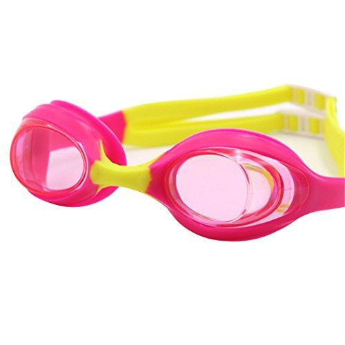 Fansport Taucherbrille, Schwimmbrille Einstellbare Wasserdichte Anti Fog Schwimmbrille für Erwachsene Kinder