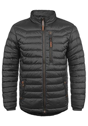 Blend Cemalo Herren Winter Jacke Steppjacke Winterjacke gefüttert mit Stehkragen, Größe:M, Farbe:Phantom Grey (70010)