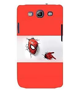 printtech Superhero cool Back Case Cover for Samsung Galaxy S3::Samsung Galaxy S3 i9300