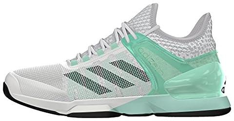 adidas adizero ubersonic 2 Tennis - Trainers for Men, 42 2/3, Green