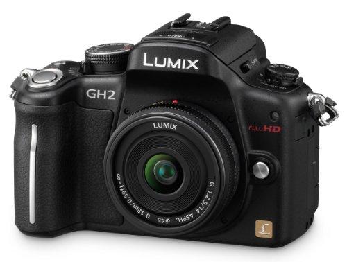 Panasonic DMC-GH2 Fotocamera digitale con obiettivo intercambiabile H-FS014042 LUMIX G VARIO 14-42 mm/F3.5-5.6 ASPH MEGA O.I.S.