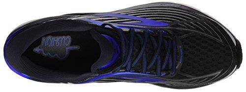 Brooks Transcend 4, Chaussures de Course Homme Noir (Black/anthracite/silver)