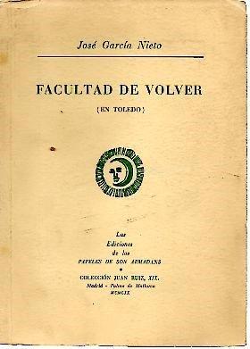 FACULTAD DE VOLVER. (EN TOLEDO).